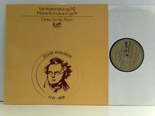 Franz Schubert Impromptus Op. 142 Moments Musicaux op.94, Dieter Zechlin, Piano