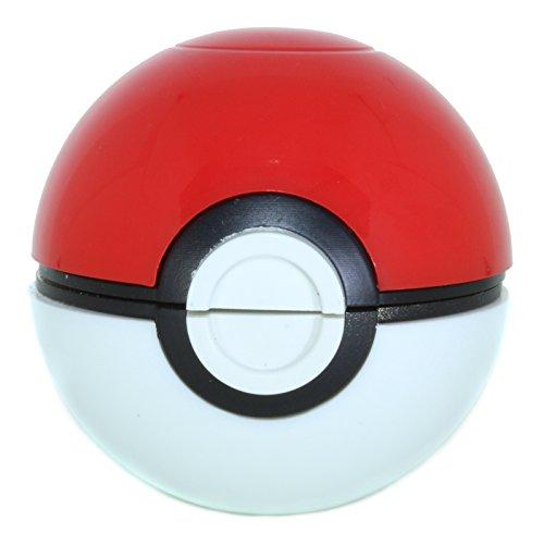 Pokemon Pokeball Grinder, Herb, Tobacco Grinder (Red)