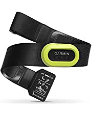 Garmin HRM Pro – premium hartslag-borstband voor de registratie + opslag van hartslaggegevens/loopefficiëntiewaarden, ANT+/Bluetooth-zender, slaat en stuurt de gegevens ook na de training
