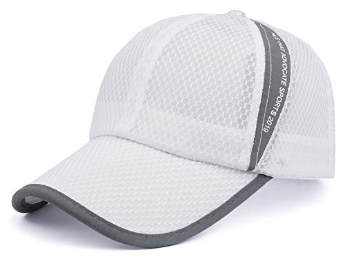 ELLEWIN Unisex Breathable Quick Dry Mesh Baseball Cap Beach Cap