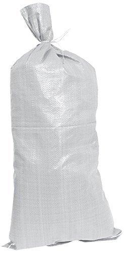 MARAPON Gewebesack [3 stück. - je 160 Liter] mit Einer Tragkraft von über 40 kg und 55x66 cm | Als Sandsack, Müllsack und Gartensack geeignet | stichfest
