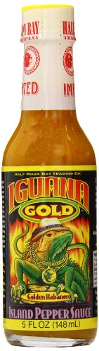 gift ideas for the letter I - Iguana hot sauce