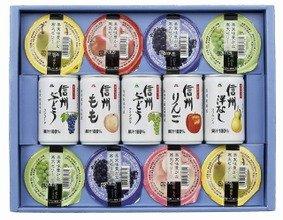 ■ムソーの通年ギフト 【アルプス】ストレートジュース&フルーツゼリー(小)  ※送料込(一部地域別途)