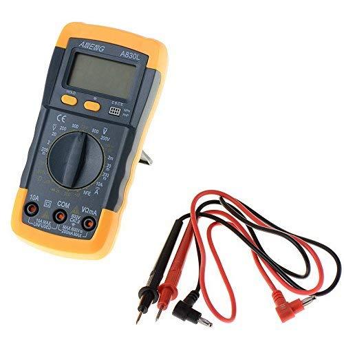 Find Discount LHQ-HQ LCD Auto Range AC DC Digital Voltmeter Ammeter OHM Multimeter Volt Tester Diagn...