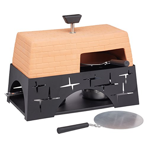 Artesà Terracotta Mini Table-Top Pizza Oven, 28 x 15.5 x 22 cm (11' x 8.5' x 6')