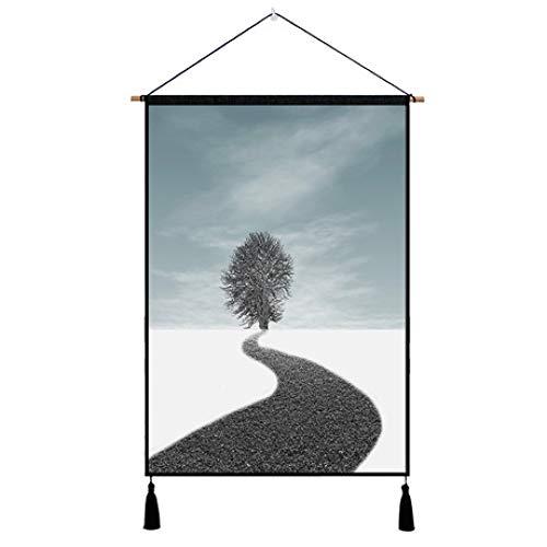 ZhiGe Decoracion Paredes,Tapices Decorativos de Pared hogar medidor eléctrico Cuadro Cubrir Tela Pinturas