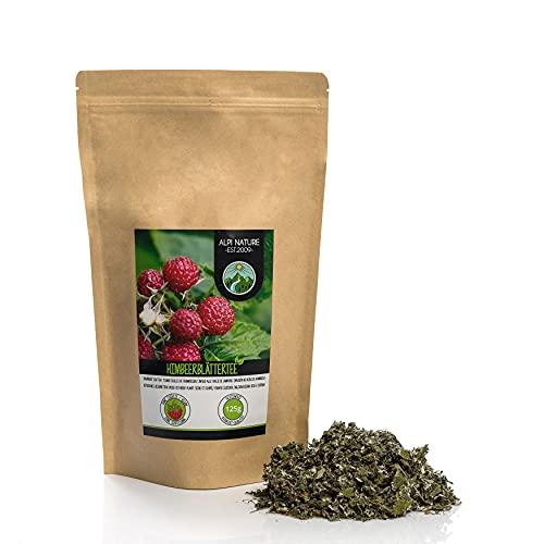 Infusion de feuilles de framboise (125g), Tisane aux feuilles de framboise, Thé à la feuille de framboise, coupées, déshydratées en douceur, 100% pures et naturelles