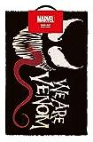 Unbekannt Marvel Fußmatte We Are Venom, Weiß, 40 x 60cm