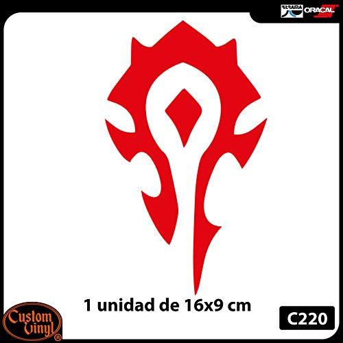 Custom Vinyl Pegatina simbolo Tribal Horda