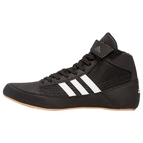 adidas Herren Havoc Multisport Indoor Schuhe, Schwarz (Black Aq3325), 44 2/3 EU