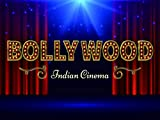 Bollywood Indisches Film-Poster mit rotem Vorhang, 17,8 x