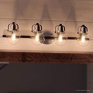 Luxury Industrial Bathroom Vanity Light, Large Size: 7.75