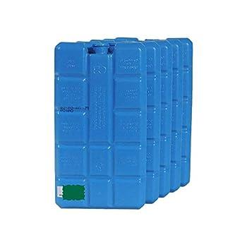 Viva Haushaltswaren # 09963# 10Grands kühlakkus Env. 400ML, réfrigérants pour glacière/Glacière/Froid, Plastique, Bleu, 16x 9x 3cm