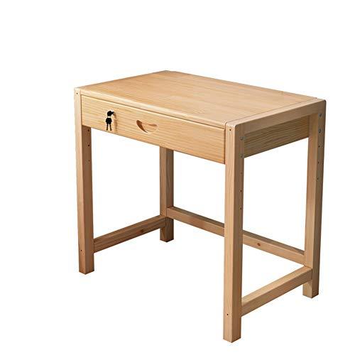 GU YONG TAO Bureau d'ordinateur Portable au Design relevable à 4 Sections - Bureau de Petite Coiffeuse en Bois Multifonction de Haute qualité, avec Serrure et tiroirs, Convient à l'étude, au Travail