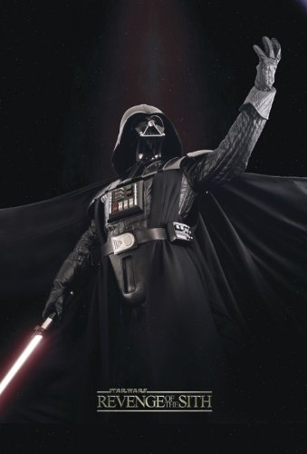 Close Up Póster Star Wars Episode II The Revenge of The Sith/Episodio III La Venganza del Sith-Vader (68,5cm x 101,5cm)