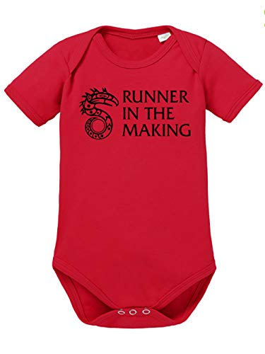 clothinx Runner in The Making Shadowrun Baby Body Bio Rot Gr. 62