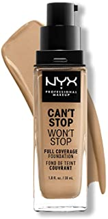 NYX PROFESSIONAL MAKEUP Can't Stop Won't Stop Full Coverage Foundation, Beige 11