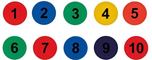 Eduplay Bodenzahlen, bunt 10er Set