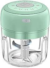 Electric Mini Vegetable Chopper, Food Chopper, Veggie Chopper, Garlic Chopper, Salad, Lettuce, Onion, Chili, Slicer, Crusher, Tomato, Ginger, Meat Dicer Cutter Mincer for Kitchen, Portable USB (250ML)