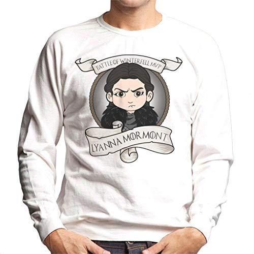 Battle of Winterfell Lyanna Mormont MVP Game of Thrones Men's Sweatshirt