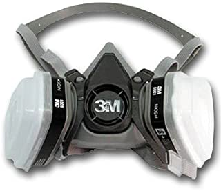 3M 6000 Series Respirator Half Facepiece Kit With Filters Medium (Most Common) (No Eye Protection)