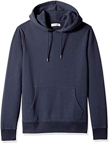 Amazon Brand - Goodthreads Men's Pullover Fleece Hoodie, Navy Eclipse, Large
