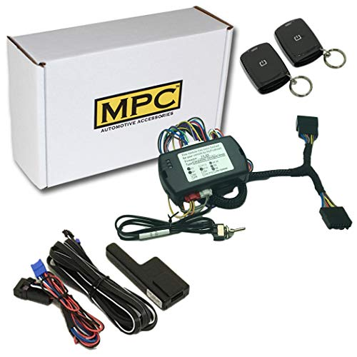 MPC Complete Plug & Play 1-Button Remote Start Kit for 2007-2018 Jeep Wrangler with Key-to-Start - Firmware Preloaded