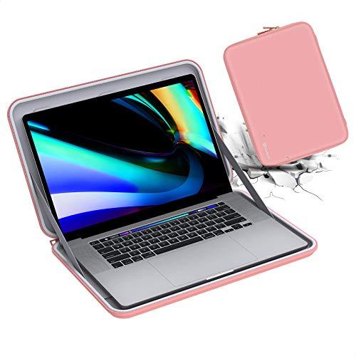 Smatree Macbook Pro 2019 Funda Rígida de 16 pulgada , Estuche Rígido para Portátil para Razer Blade 15 de 15,6 pulgada / Acer Aspire 5 A515-55 de 15,6 pulgada, HP 15s-eq0032na /15s-fq1003na, Rosa