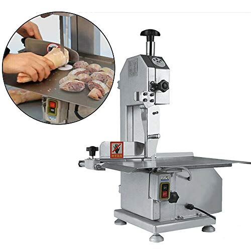 Electric Bone Cutting Machine - Commercial Frozen Meat Steak Cutting Machine - Table Saw Blade Bone Cutter Slicers Sawing Machine Meat Grinder For Cutting Bone/Ribs/Frozen Meat/Fish Trotters Electric Bone Cutting Machine - Commercial Frozen Meat Steak Cutting Machine - Table Saw Blade Bone Cutter Slicers Sawing Machine Meat Grinder For Cutting Bone/Ribs/Frozen Meat/Fish Trotters