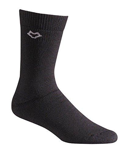 Fox River Outdoor Wick Dry Tramper Merinowolle Crew Socken, Unisex Unisex-Erwachsene Herren, Wick Dry® Tramper Crew, schwarz, Large