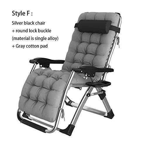 LLSTRIVE relaxsessel Garten,Liegestühle, Büroklappstühle, Outdoor-Liegestühle, Home @ Style F