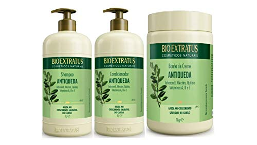 Jaborandi Antiqueda Bio Extratus Shampoo Cond E Masc Litrao