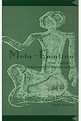 Meta-Emotion: How Families Communicate Emotionally Kindle Edition
