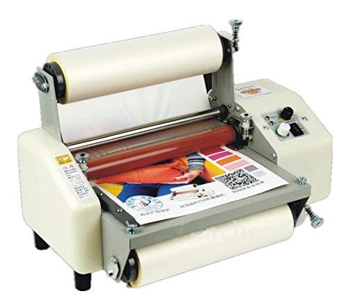 """Hanchen Laminadora 220mm/8.66\"""" A4+ Plastificador Frío y Caliente 0-2000mm/min Laminador Térmico con 4 Rodillos para Documentos Fotos Tarjetas 8230T"""