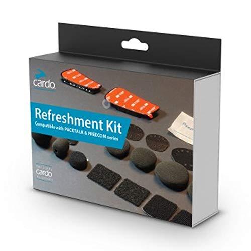 Cardo Refreshment Kit – kompatibel mit Packtalk & Freecom – für Helmwechsel