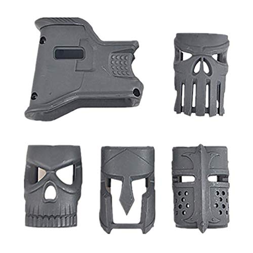 JINGz Mojo Mask Grip Decoration Grip for AR-15 (Black)