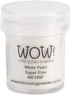Wow Embossing Powder WOW Embossing Powder, 15ml, White Pearl