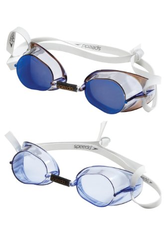 Speedo Original Swedish Swim-Swimming Goggles 2-Pack Set Anti-Fog Coating New