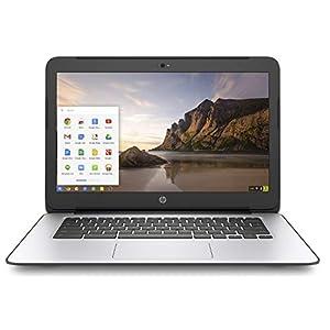 "BLACK HP CHROMEBOOK 14"" G4 INTEL CELERON N2840 2.16 GHZ 4GB RAM 16GB SSD WEBCAM CHROME OS (Renewed) 20"
