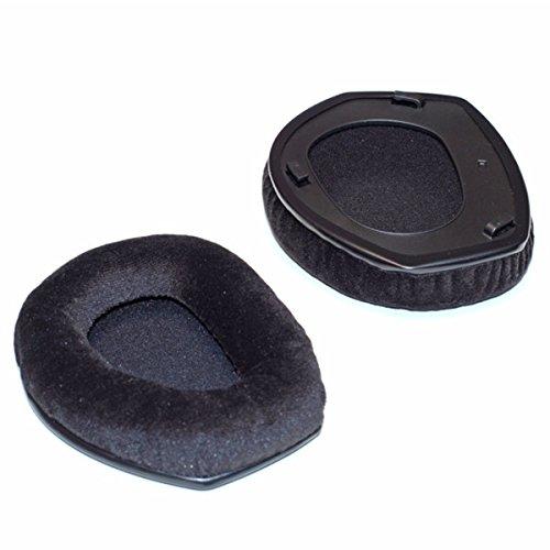 Sennheiser schwarze Ohrpolster aus Velours mit Schaumstoffscheibe für RS185 und HDR185 (562592)