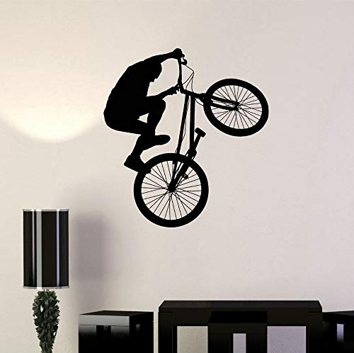 Tianpengyuanshuai BMX fiets Extreme Sports PVC Vinyl muursticker Art Decals Home Decor