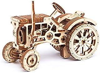 WOODEN.CITY トラクター | 機械式モデルキット | パズルセット | 美しい仕事用ギフト 自宅やオフィスの装飾