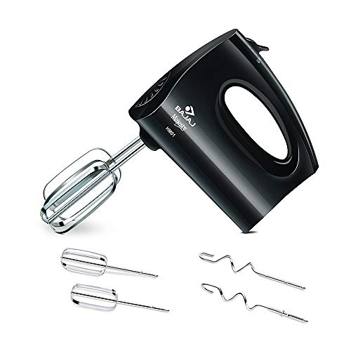 Bajaj HM 01 250-Watt Hand Beater (Black)