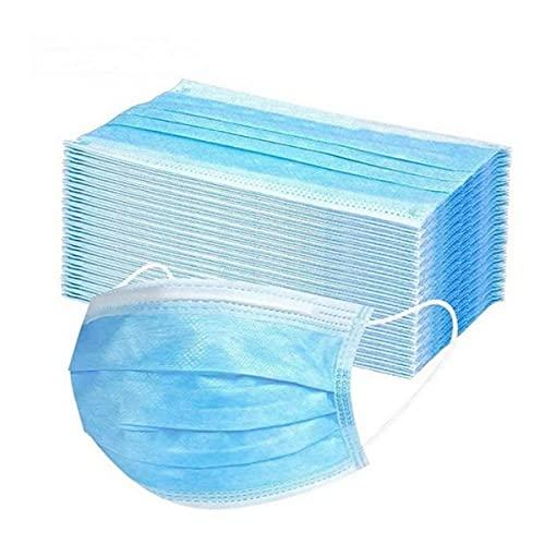 50x Chirurgische Maske OP Maske Typ IIR - BFE < 98% - Mund und Nasenschutz Mundschutz Maske für Krankenhaus, Pflegeeinrichtungen, Unternehmen