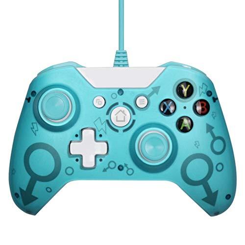 Lilon Controller USB Wired per controller Xbox One PC per vittoria 7 8 10 Microsoft Xbox One Joysticks Gamepad con doppia vibrazione