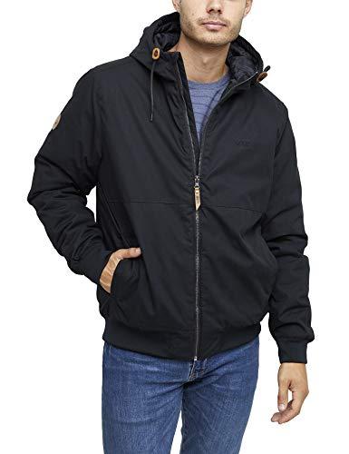 mazine Campus Classic Jacket - Herren - Streetwear/Übergangsjacke - Farbe: Black/Black - Grösse XL