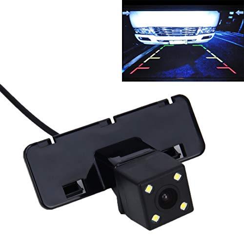 QICHENGBIN Rückfahrkamera-Kit 720 × 540 effektive Pixel NTSC 60 Hz CMOS II wasserdichte Auto-hintere Ansicht-Unterstützungskamera mit 4 LED-Lampen, for den Zeitraum 2008-2012 Version Groß Vitra