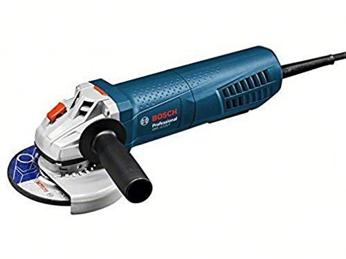 """BOSCH 0601792202 - Miniamoladora Hombre Muerto GWS 11-125 P Professional. 1.100 W. 125 mm. 11.500 rpm. Interruptor""""HM"""". 2,3 Kg con Caja de cartón."""