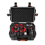 Homehod FPV case Bag Professional Hard Carrying Case for DJI FPV Drone, Waterproof Hard Shell Storage Bag for DJI FPV Combo Fly More and Accessories