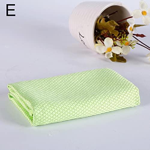 Nuevo hogar de la escama de pescado paño grueso absorbente toallitas paño de vidrio no arrojará el pelo cocina tareas domésticas toalla de limpieza